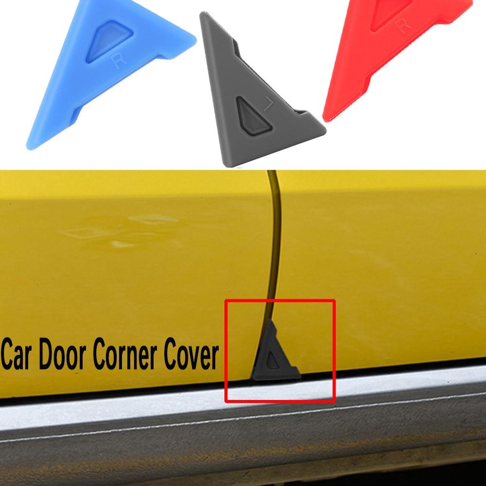 2Pcs//Car Door Corner Cover Silicone Anti-Scratch Crash Protection Protector Pro