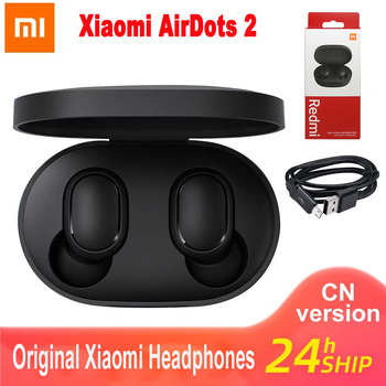 Oryginalny Xiaomi Airdots S Tws Redmi Airdots Pro 2 słuchawki bezprzewodowe słuchawki Bluetooth 5 0 zestaw słuchawkowy do gier z mikrofonem sterowanie głosem tanie i dobre opinie Słuchawki Piston w wersji młodzieżowej Zaczepiane na uchu NONE Dynamiczny CN (pochodzenie) wireless 151mW do telefonu komórkowego