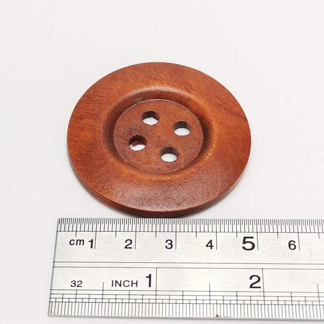 Botón botones 40 trozo patrón claramente botones 18 mm grande #489#