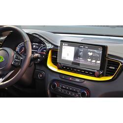 LFOTPP For Ceed X 10.25 Inch 2019 2020 Car Multimedia Radio Display Screen Protector Film Auto Interior Protective Sticker
