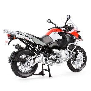 Image 3 - Maisto 1:12 R 1200 GS S 1000 RR ZX 10R Z900RS H2 R CBR600RR Diavel Carbon Monster 696 Diecast Alloy Model motocykla zabawka