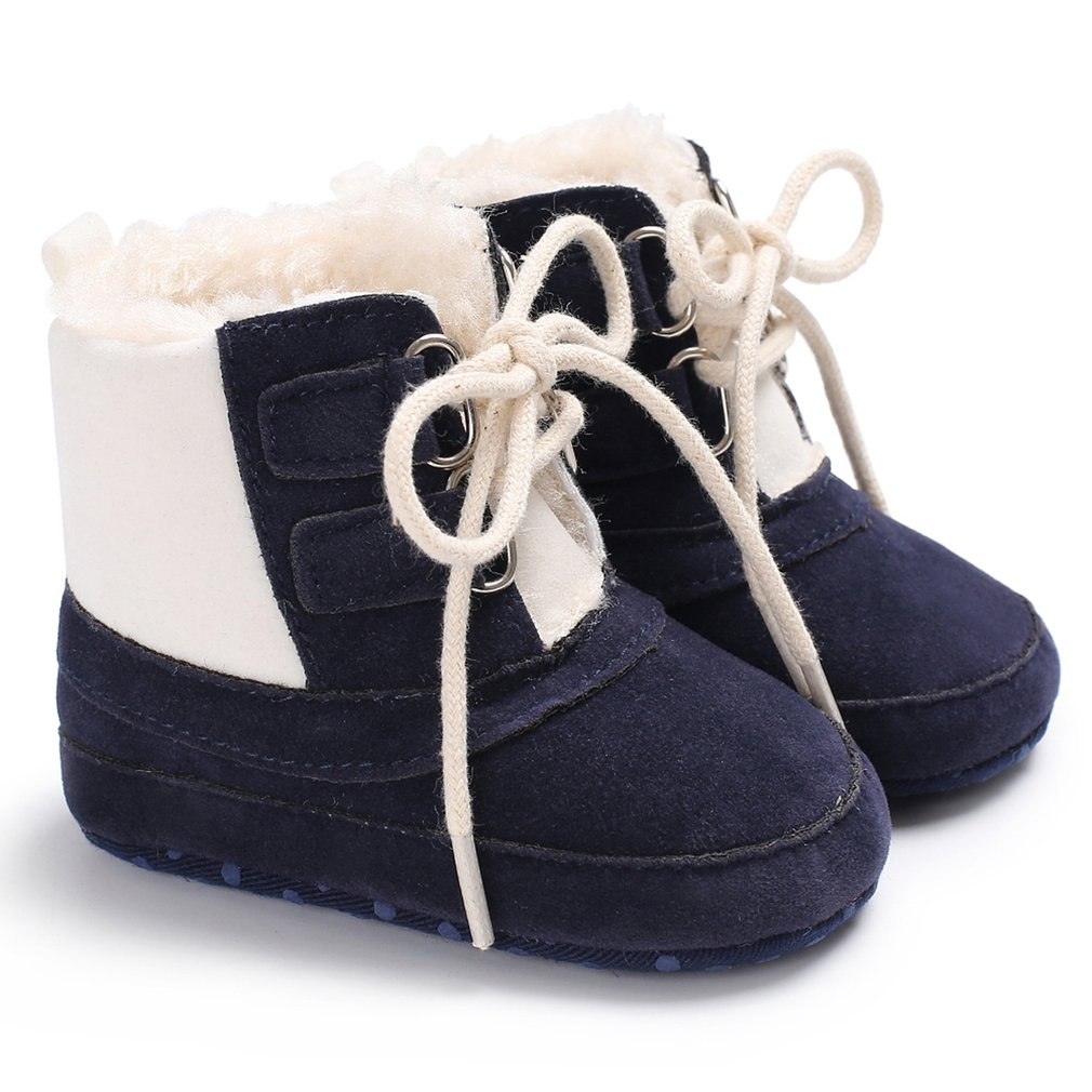 2018 New Newborn Baby Girls Boys Snow Boots Winter Leather Boots Infant Soft Sole Cotton Shoes Baby Warm Comfortable Boots 0-18M