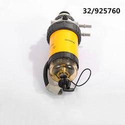 Conjunto do filtro de combustível 32/925760 fs19979 wk8138 com bomba pressão da mão para jcb js140 js160 js180 js330 separador de água combustível