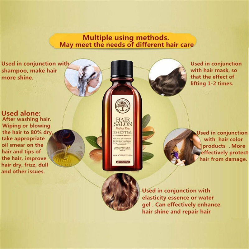 Hair Care Essential Oil Moisturizing Anti-Drying Repair Damaged Hair Quality Leave-In Conditioner 3