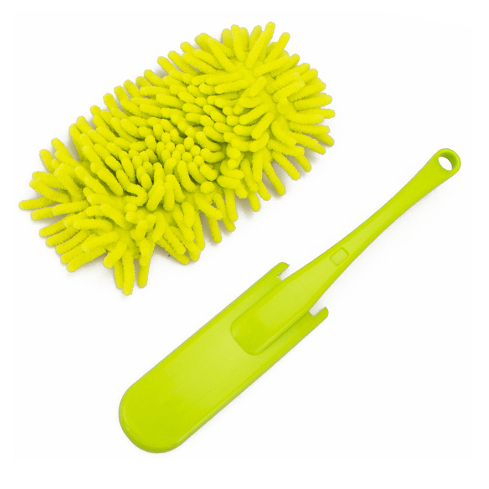 Adjustable Stretch Microfiber Dust Shan Feather Duster Household Dusting Brush Car Office Cleaning Tools Kichen Accessories