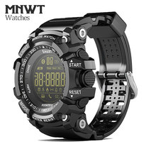 MNWT – montre-bracelet numérique pour hommes, nouvelle marque, étanche 5ATM, pour activités de plein air, mode, horloge numérique décontractée