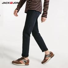 JackJones kış erkek yeni karanlık iş rahat yönlü kot 218432517