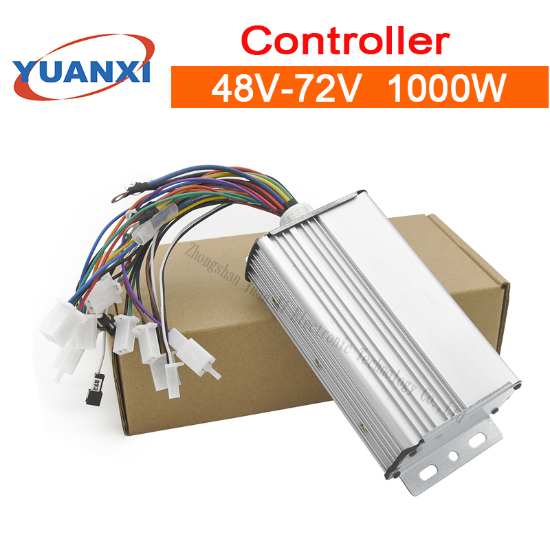 1000W Controller 48V/60V/72V 40A Electric car brushless controller no hall controller