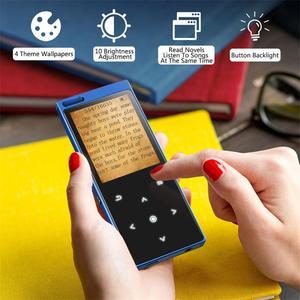 Image 4 - Reproductor de música C12 Bluetooth 4,0 MP3 con altavoz pantalla táctil de Metal música sin pérdidas de alta calidad con Radio FM, grabadora