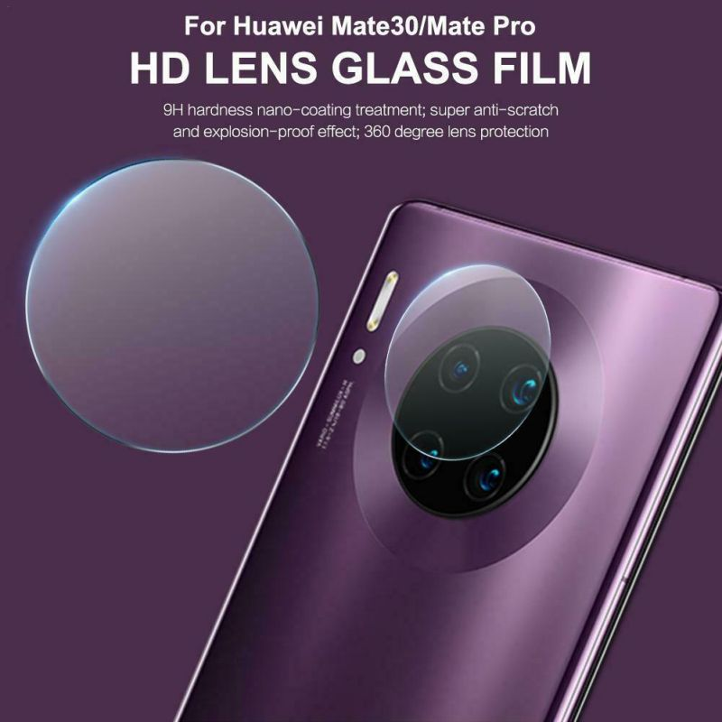 2.5D Phone Back Camera Lens Protective Film 9H Hardness Glass For Huawei Mate30 Memory Card