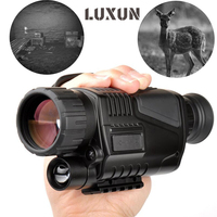 Powerful Hunting Camera Night Vision Monocular Infrared Hunting Telescope With 8GB Memory Card Night Vision Telescope