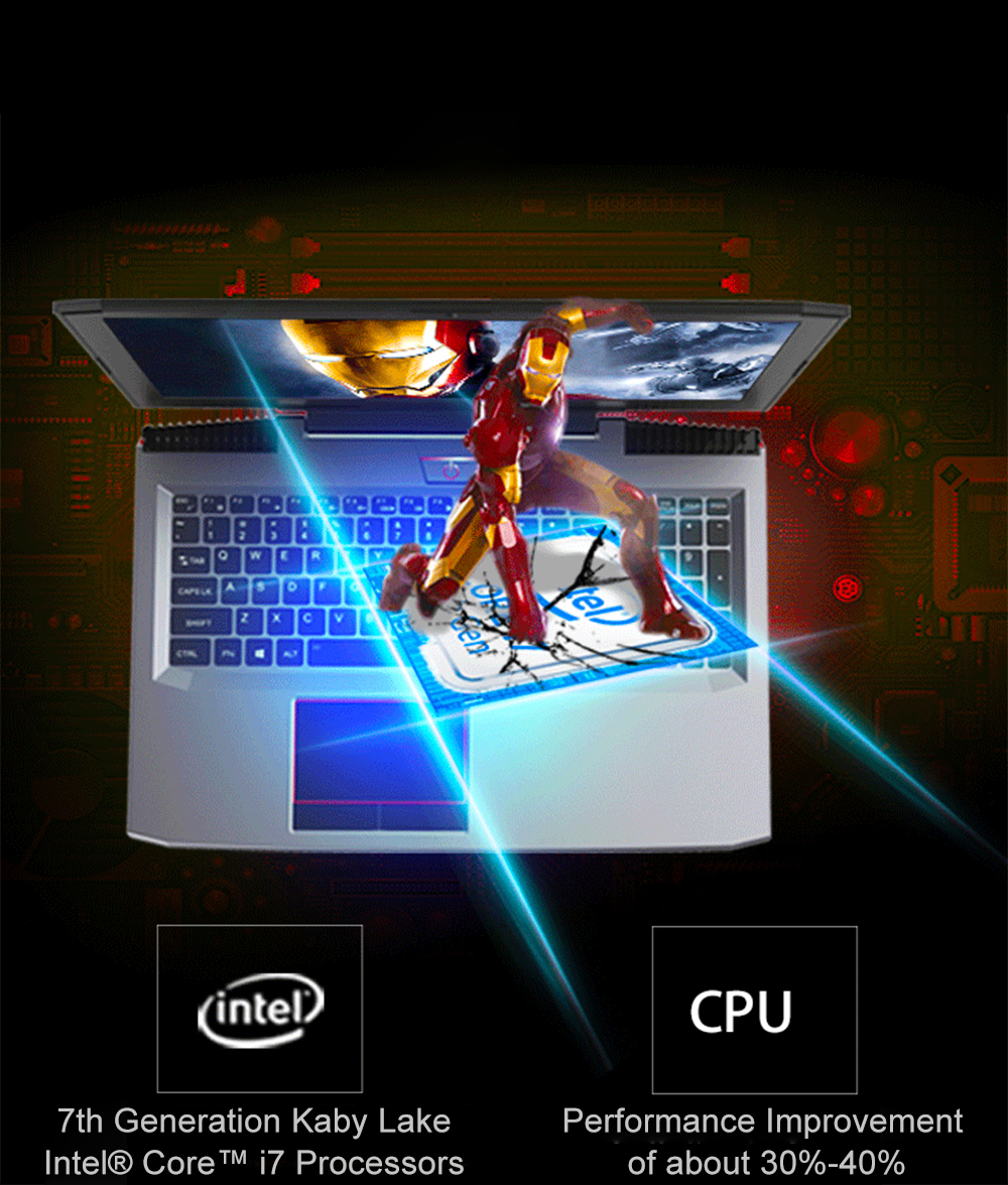 "H4fcf73573869468e9d7fbea5115b7fcev 15.6"" Intel Core i7-7700HQ NVIDIA GTX1060 Dedicated Graphics Windows 10 8GB RAM 512GB SSD Game Laptop Backlit Keyboard Notebook"