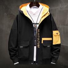 2019 Zipper Men Jackets Autumn Winter Casual Coats Bomber Jacket