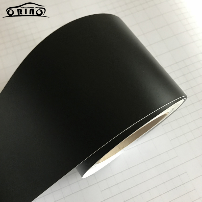 10X100/150/200/300/500CM Matte Black Vinyl Wrap Self Adhesive Air Release Bubble Free Car Styling Membrane Sticker Decal Film