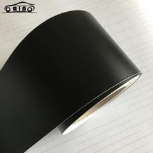 10x100/150/200/300/500cm envoltório de vinil preto fosco auto adesivo bolha liberação ar livre estilo do carro membrana adesivo decalque filme