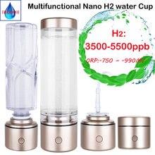 Портативный нано высокой концентрации водородная бутылка для
