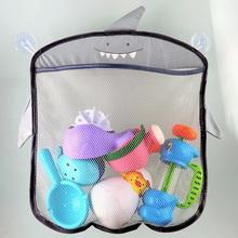 New Baby Bathroom Mesh Bag Sucker Design For Bath Toys Kids Basket Cartoon Animal Shapes Cloth Sand Toys Storage Net Bag