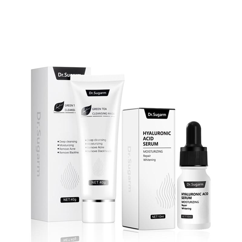 Dr.Sugarm Hyaluronic Acid Serum Blackhead Mask Face Skin Care AntiAging Repair Moisturizing Whitening Remove Acne Cleansing Pore