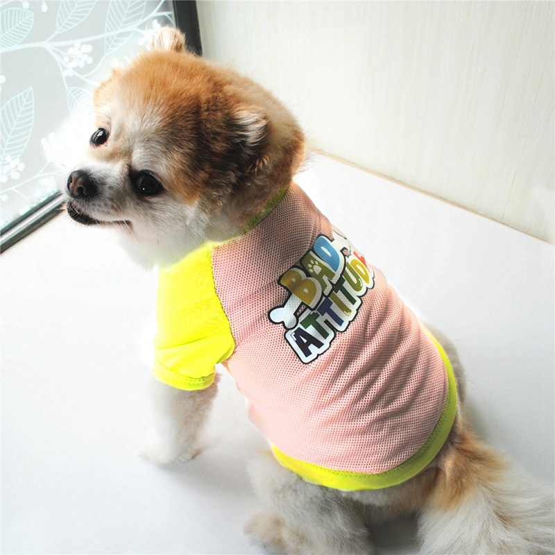 Summer Dog Clothes for Small Dog Clothing Pet Mesh Breathable Vest for Dogs Jacket Clothing for Chihuahua Pet Puppy Costume 11