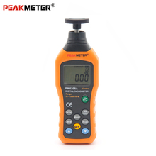 PEAKMETER PM6208A PM6208B Digital Laser Tachometer Contact 50-19999RPM Tacometro rpm Odometer Velocity Backlight