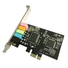 Sound-Card O-Interface PCI-E CMI8738 Desktop Chipset