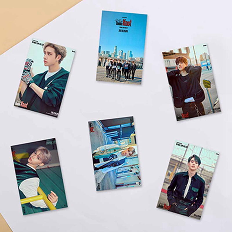 10Pcs/Set Kpop Stray Kids All Members Personal Customized Card Team Crystal Card Sticker Photocard Stickers Fans Gifts