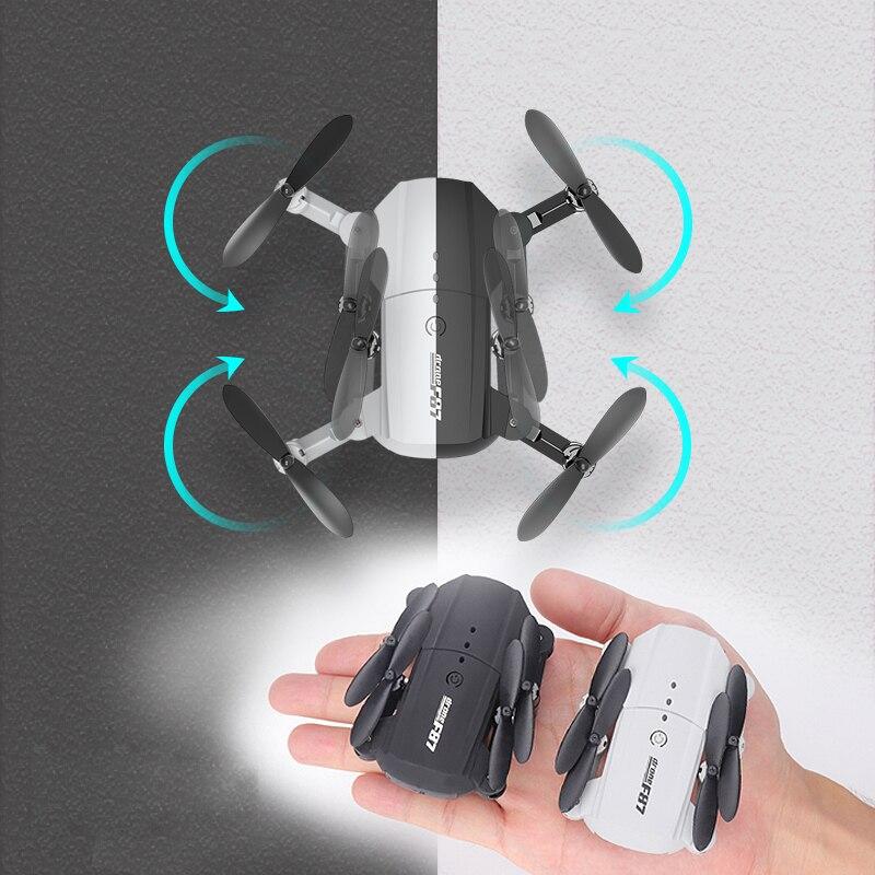 F87 Mini 4K двойная камера высокой четкости воздушная камера БПЛА большой радиус действия складной пульт дистанционного управления БПЛА