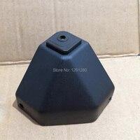 4 pcs 사이드 박스 코너 도구 케이스 브래킷 가방 하드웨어 오토바이 알루미늄 합금 트렁크 보호 버클 diy 수제