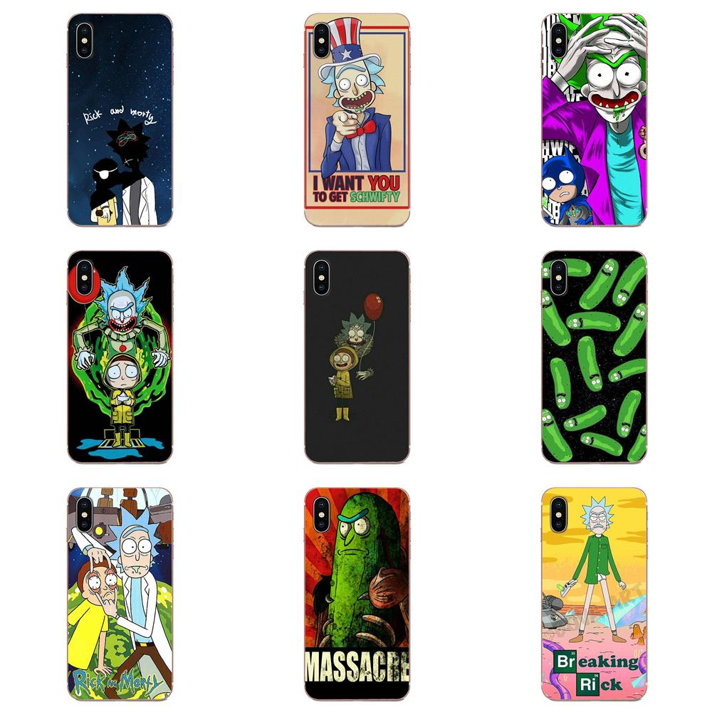 Funny Cartoon Comic Meme Rick And Morty Design For Galaxy Grand A3 A5 A7 A8 A9 A9S On5 On7 Plus Pro Star 2015 2016 2017 2018 image