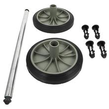 1 Set Wheels Durable Premium Garbage Can Accessories Trash Can Wheels for Garbage Can