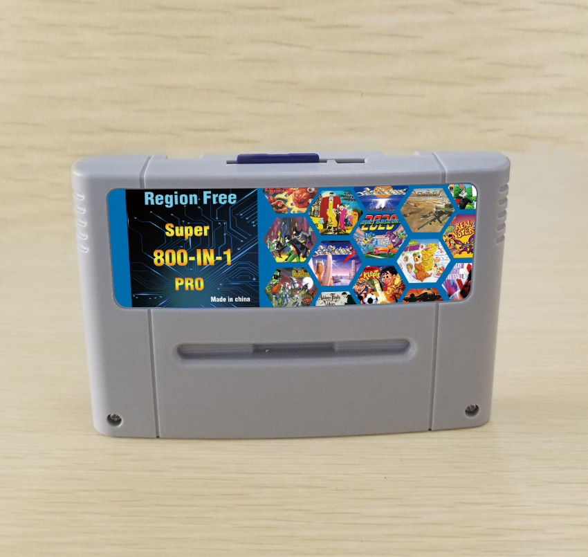 DIY 800 in 1 Super China Pro Remix Game Card For 16 Bit Game Console Game Cartridge Support all USA/EUR/Japan Consoles|Replacement Parts & Accessories|   - AliExpress