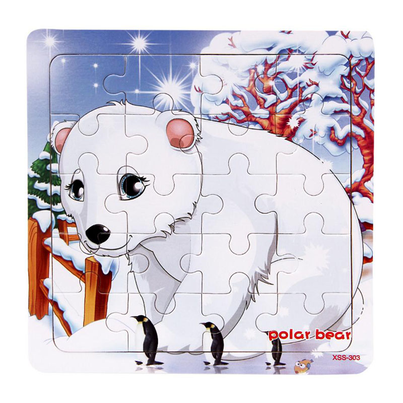 Baby Rhino Ecko Jigsaw Puzzle-20 Pieces Brand New Early Learning Great Fun Kids
