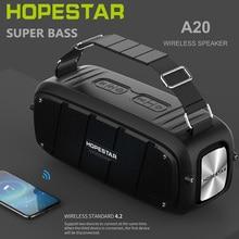 Bluetooth colonna 55W Super bass stereo subwoofer HOPESTAR Ad Alta potenza altoparlante Portatile di Musica di Sistema Audio stereo portatile per Computer