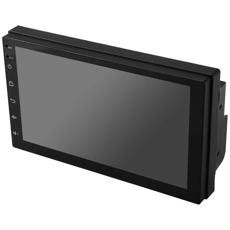 2 Din Android 8.1 GPS 7 cal ekran dotykowy MP5/MP4/MP3, odtwarzacz bluetooth audio, samochód odbiorniki stereo, widok z tyłu kamery, Radio FM, USB
