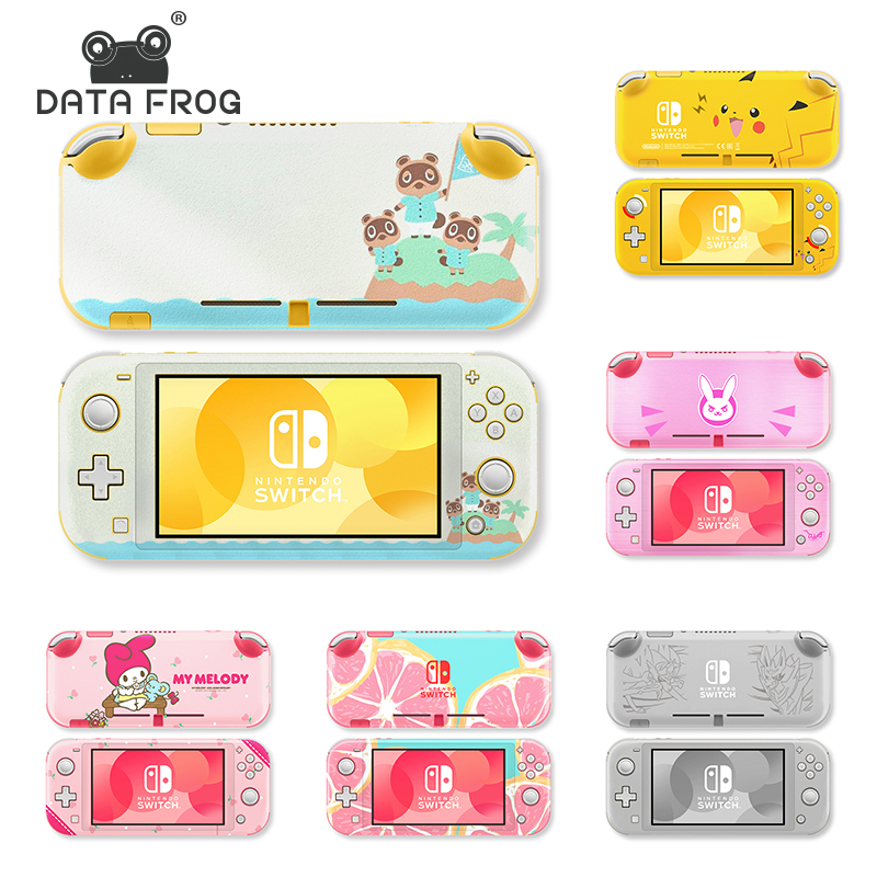 DataFrog 14 Pattern Sticker For Nintendo Switch Lite Skin Stickers Protective Stickers For Nintend Switch Lite Pikachu Cute Skin