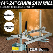"""Portable Chain Saw Mill Planking Milling From 14"""" to 24"""" Guide Bar Chainsaw Mill Chain"""