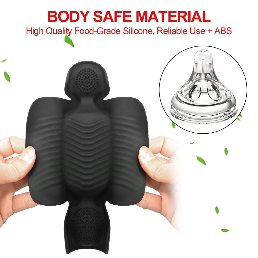 Glans Exercise Vibrator safe material