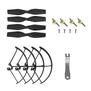 Holy Stone HS160Pro/HS161 Drone Spare Parts Kits Propellers Landing Gear Propeller Guards Set Parts For HS160Pro/HS161 RC Drone
