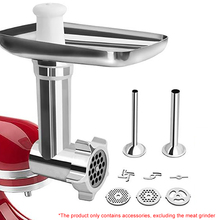 Meat Grinder Attachement Meat Mincer Sausage Stuffer Accessories For KitchenAid Stand Mixers Household For KitchenAid Stand Mixe