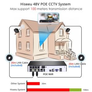 Image 3 - Hiseeu 8CH 5MP poe nvrキットH.265セキュリティカメラシステムオーディオ録音愛ipカメラ屋外防水P2Pビデオ監視セット