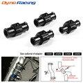 Dynoracing черный датчик температуры воды радиатор температура воды Датчик соединения трубы 18 мм 20 мм 22 мм 24 мм шланг адаптер
