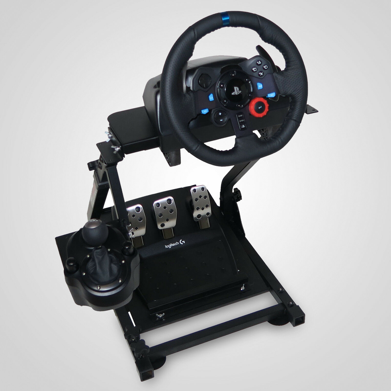 2 Pieces High Quality Racing Simulator Steering Wheel Stand Logitech G29 Thrustmaster T300RS Unique Flexibility