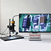 HD Industrial Video Microscope 2D3D Switchable Optical Magnifier HDMI Metal Motherboard Detection Precision Hardware SMT Testing