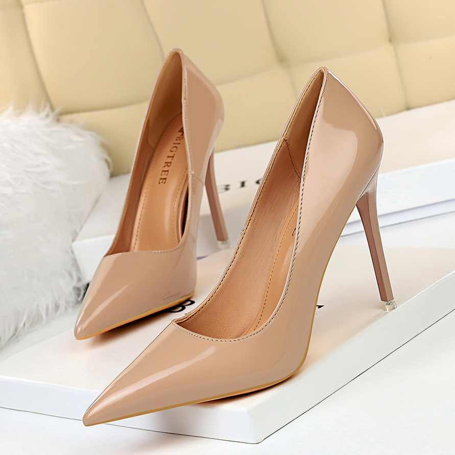 Nude Heels Wedding