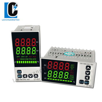 48x96mm 4-20mA analog input LED display PID temperature controller with alarm, SSR/Relay/4-20mA/0-10V output high precision handheld portable 4 20ma 0 10v signal generator adjustable current voltage analog simulator with led display