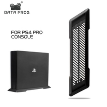 DATA FROG Black Vertical Stand For PS4 PRO Protect Cooling B