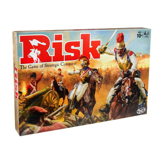 Strategic Conquest Risk The Game Board Cards Game Play Best Gift Family Party Funny Gadgets Novelty