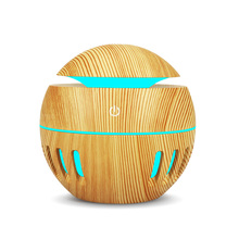 130ml USB Ultrasonic Aroma  Diffuser Cool Mist Humidifier Air Purifier with 7 Color LED Change Night Lights for Home or Office