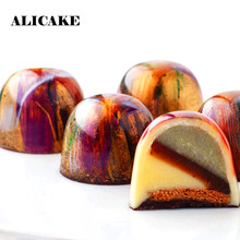 3D Polycarbonate Chocolate Sphere Molds Thick Ball Tray Cake Form for Chocolate Moulds Baking Mold Pastry Bakery Bakeware Tools