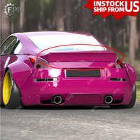 Rakete Bunny Heckspoiler Für Nissan 350Z Glas Fiber FRP Tunk Flügel Lip Body Kit Auto Styling Auto Tuning Trim teil Für 350Z